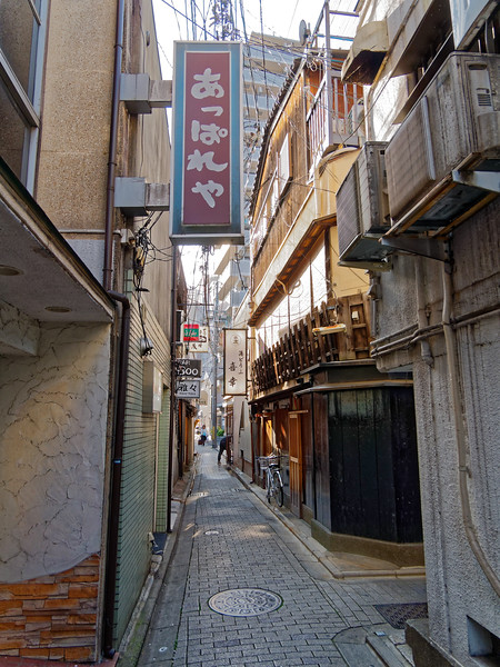 Alleyway in the Gion