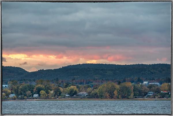 Sunset Over Gatineau Hills