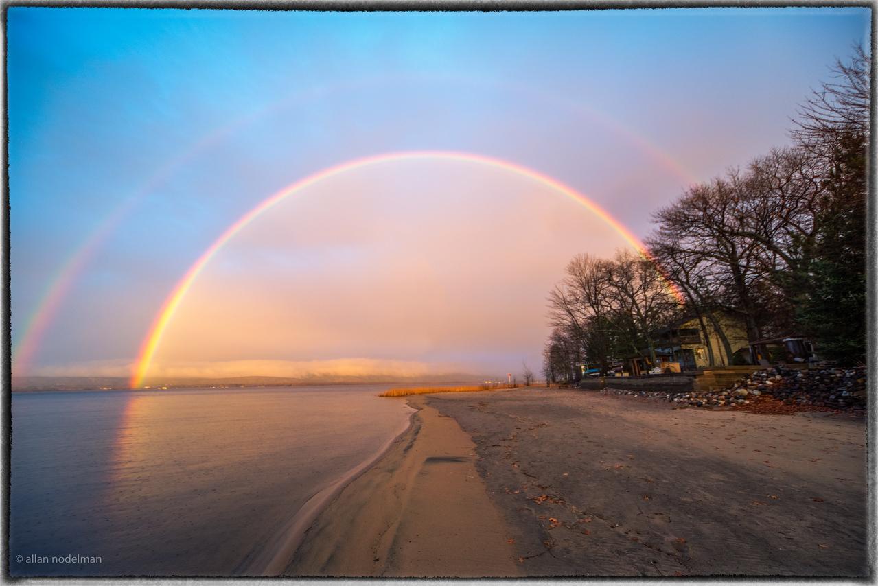 Bright Rainbow in Constance Bay