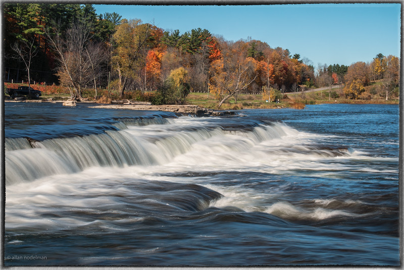 Pakenham Falls on the Mississippi River