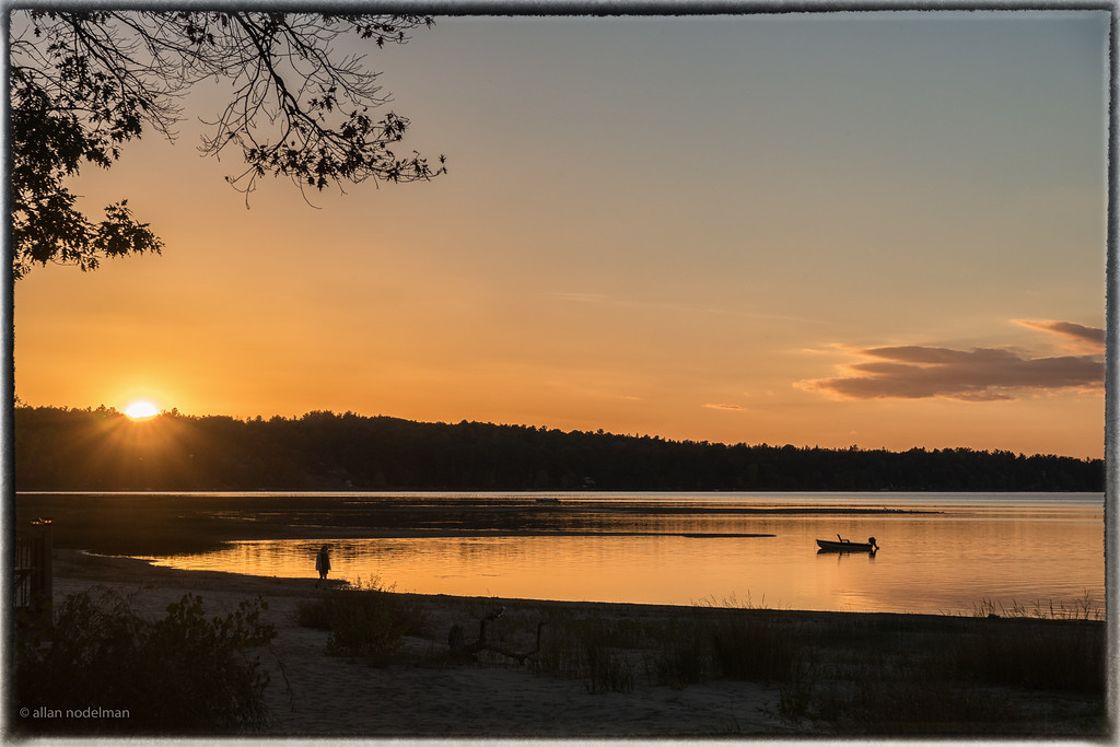 October 7th Sunset in Constance Bay