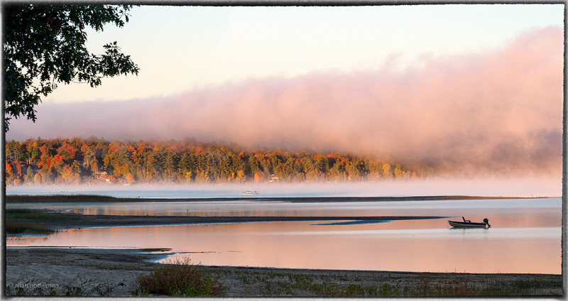 Early Morning Fog in Constance Bay