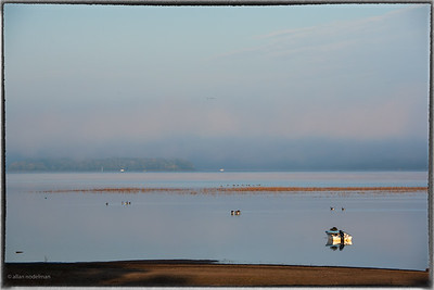 Foggy Sunrise in Constance Bay
