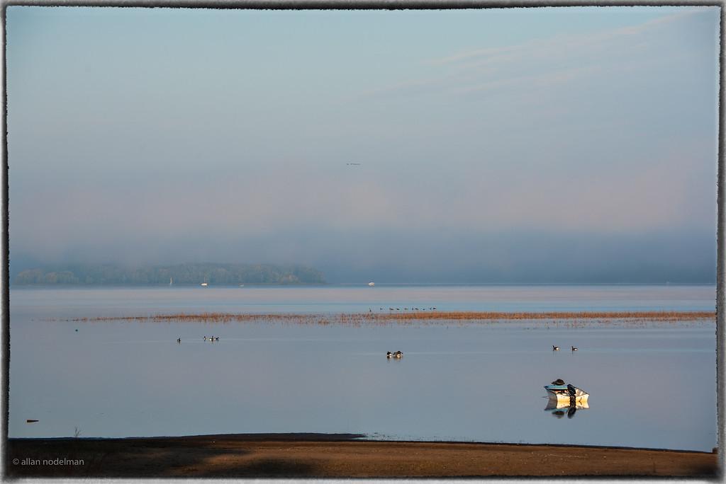 Foggy Sunrise in Constance Bay