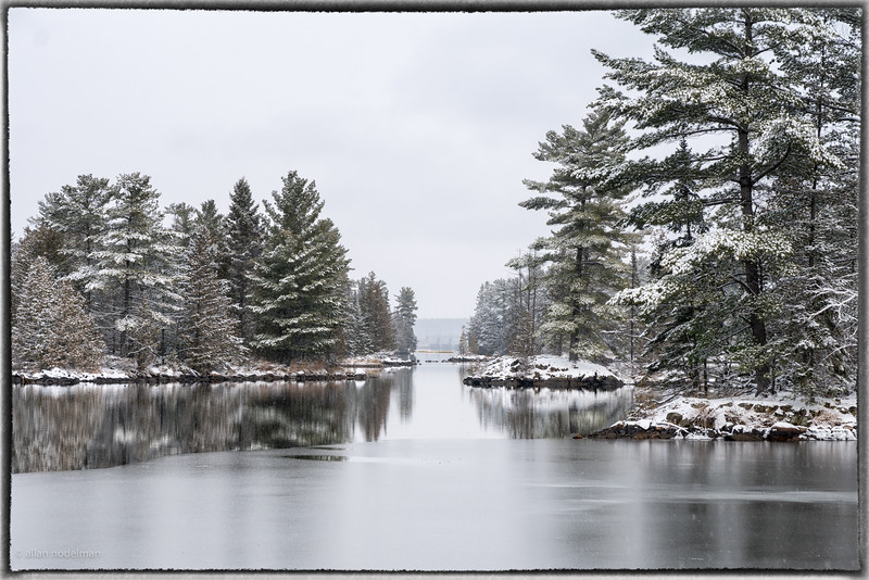 Morris Island After Snow
