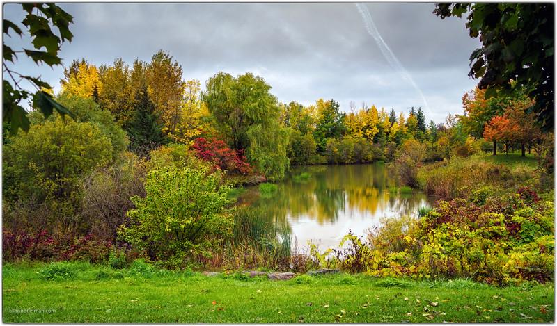 Kanata Ontario Storm Pond