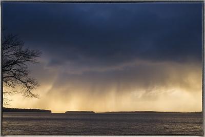 Raining Over Mohr Island