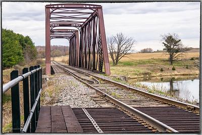 Rail Bridge in Galletta
