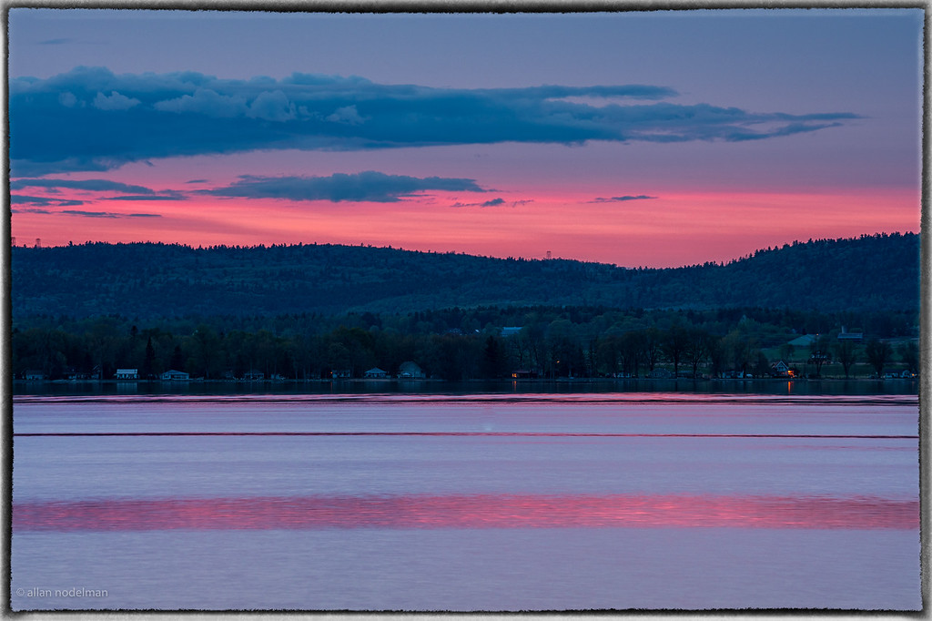 May 19th Sunset Over the Gatineau Hills and Ottawa River
