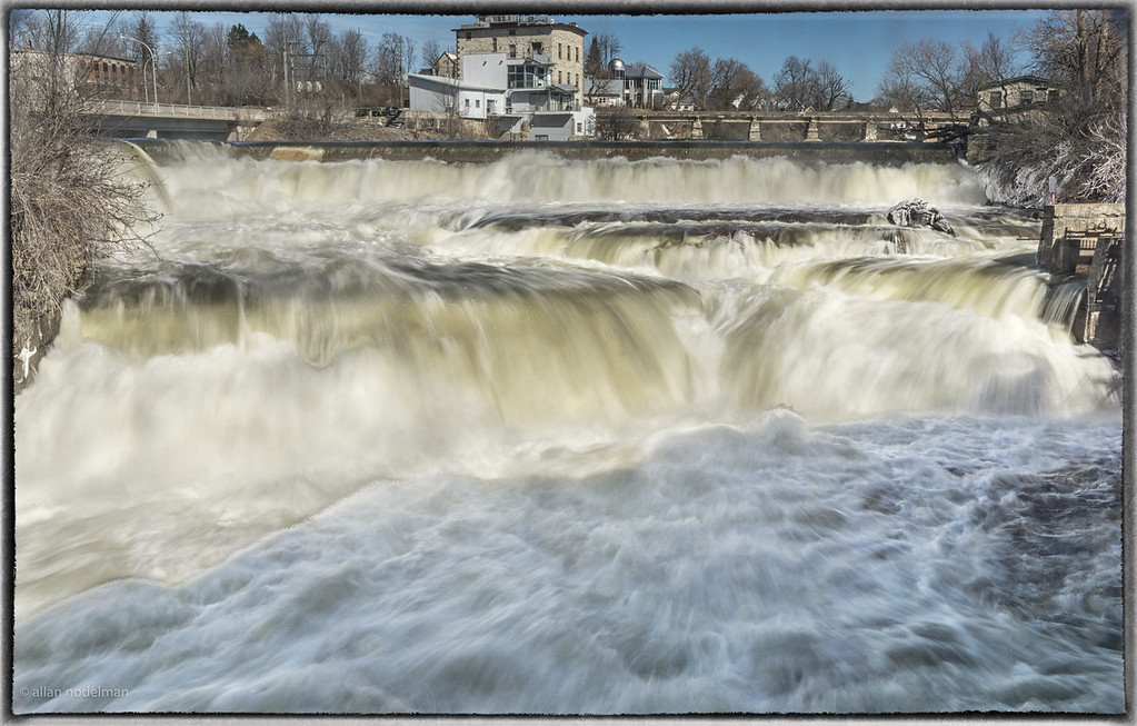 Mississippi River Spring Runoff in Almonte