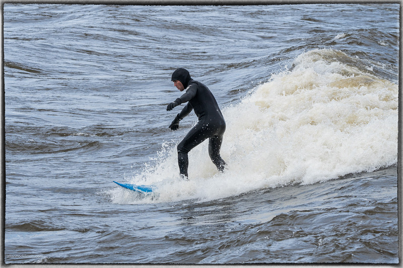 Surfing the Standing Waves at Bate Island in Ottawa