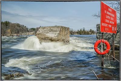 Mississippi River Spring Runoff in Pakinham