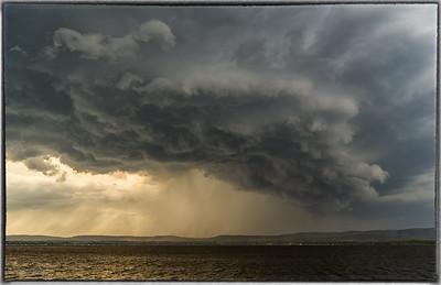 Storm Clouds in Constance Bay Ontario
