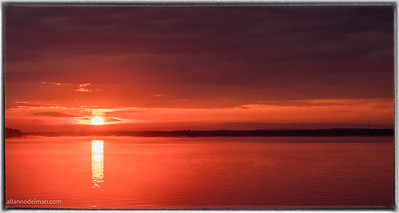 Sunset in Constance Bay