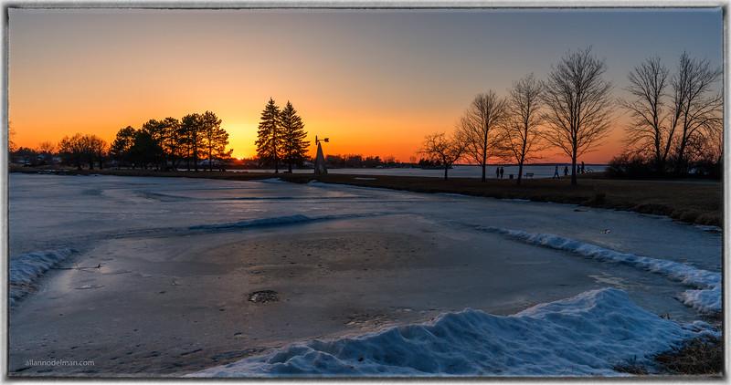 Andrew Hayden Park Sunset