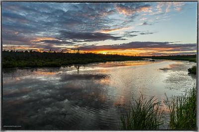 Constance Creek Sunset