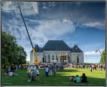 La Machine at Supreme Court of Canada Grounds