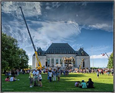 La Machine at Supreme Court of Canada Grounds