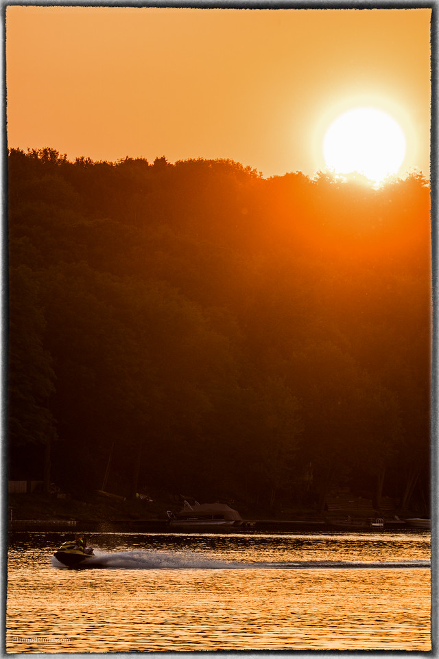 Boat Ride in Buckham's Bay