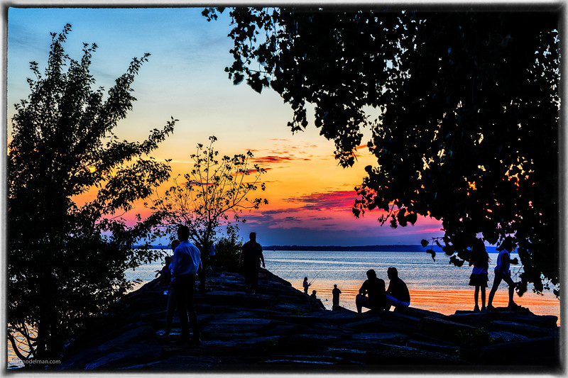 Britannia Beach Sunset Ottawa