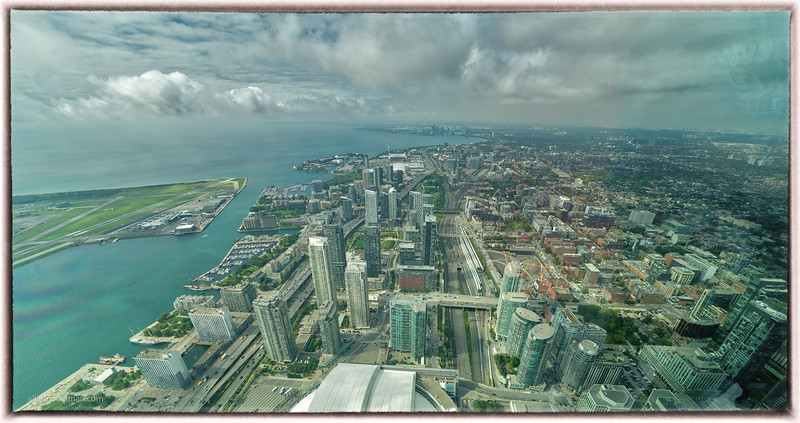 From the CN Tower Observation Deck