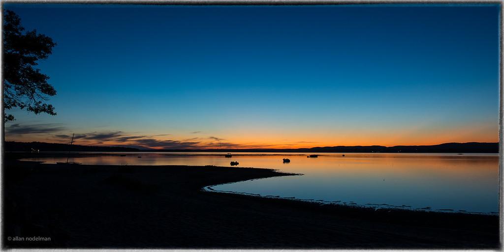 Eighteen Minutes after the Sun Set