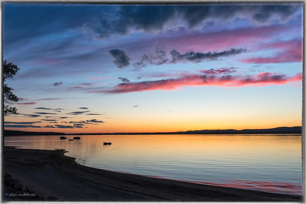 Stunning June 25rth Sunset
