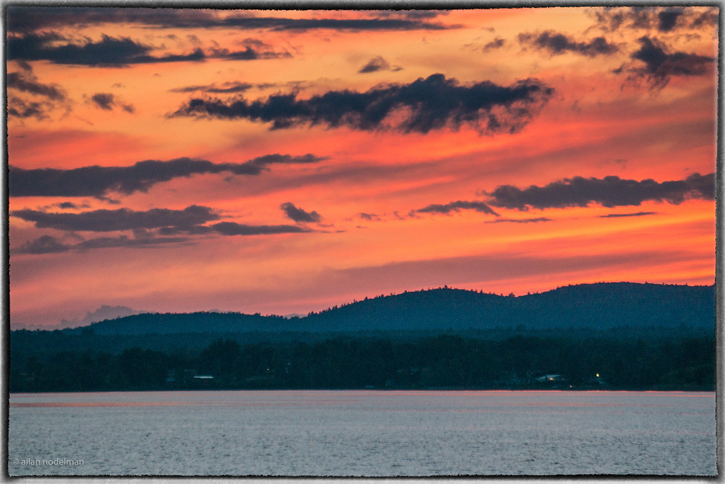 June 24th Sunset Over the Gatineau Hills