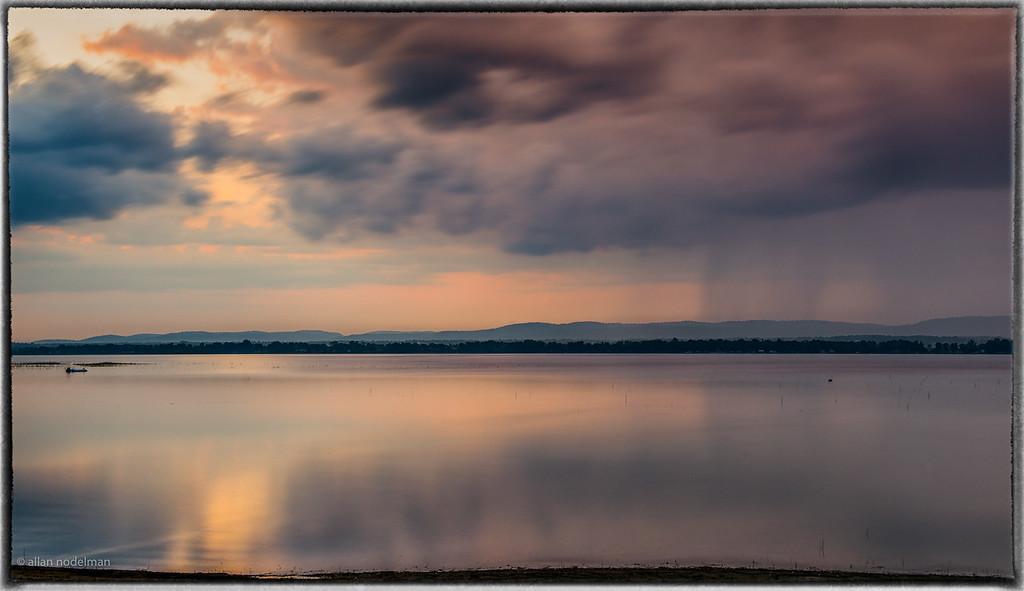 Rain After Sunset