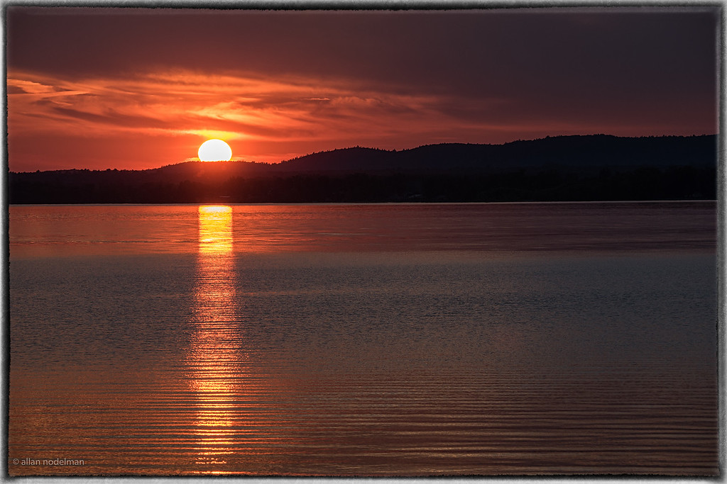 June 24th Sunset in Constance Bay