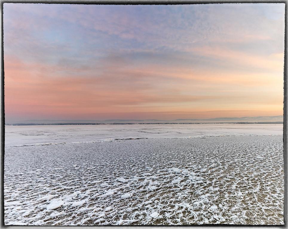 Ice Fog Sunrise