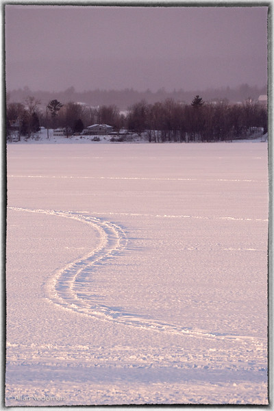 Snowmobile Trail Ottawa River