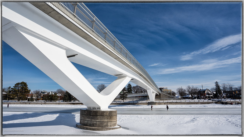 Rideau Canal Footbridge