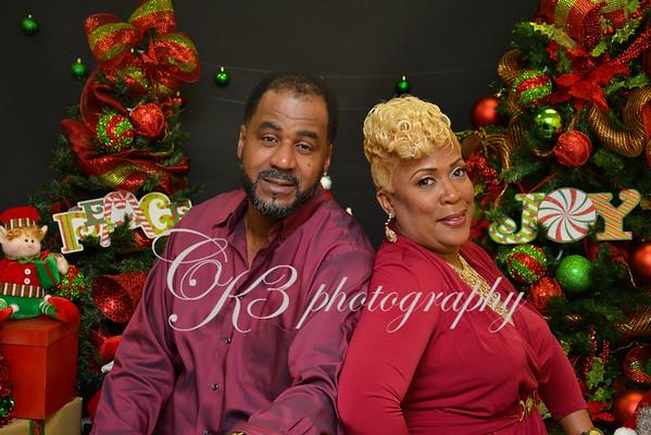 Judy Washington & David Fontenot Christmas  2015