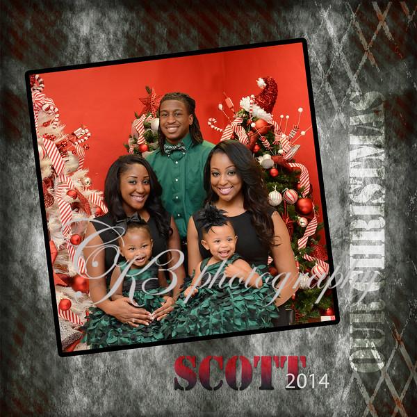 Custom Photo Memory Book - Christmas Special Session