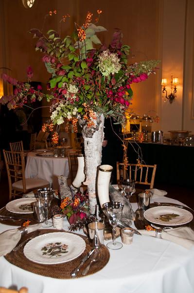 Seasonal Tablescapes created by Garden Club of Lexington