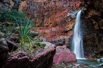 Parker Canyon Falls, Sierra Ancha