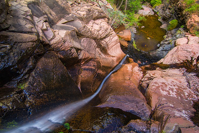 Reynolds Creek Falls, Sierra Ancha Widlerness