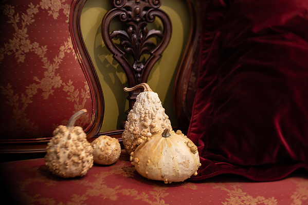Gourds In Burgundy