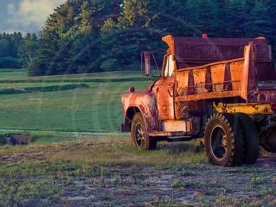 Vintage Bog Truck