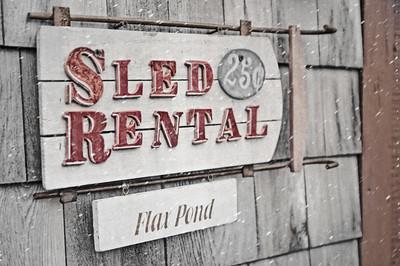 """""""Sled Rental"""""""