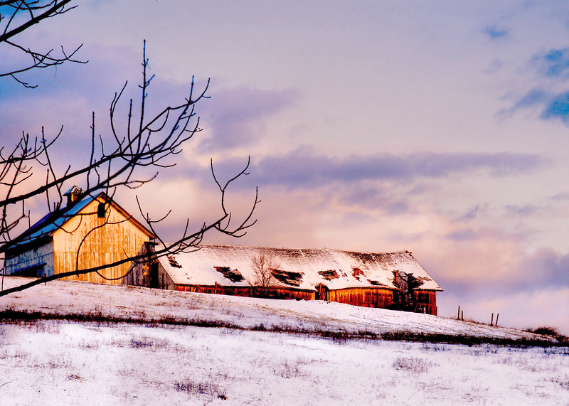 Ralph Sammarco- 2010- Sunset Barn COLOR112