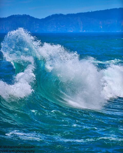 Ocean Waves, Cape Kiwanda, Pacific City, OR