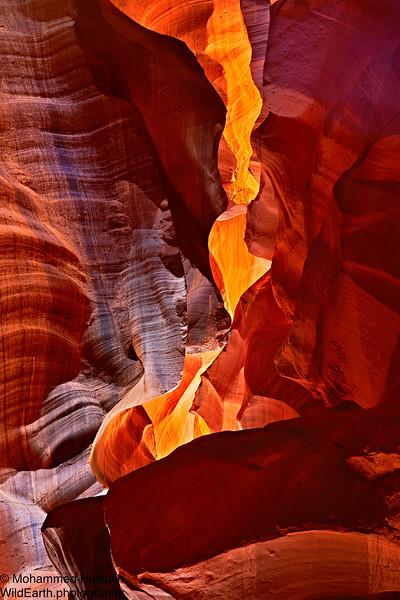 Canyon Flame, Antelope Canyon (Upper), AZ