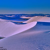 Endless Gypsum Dunes, White Sands National Monument, Alamogordo, NM