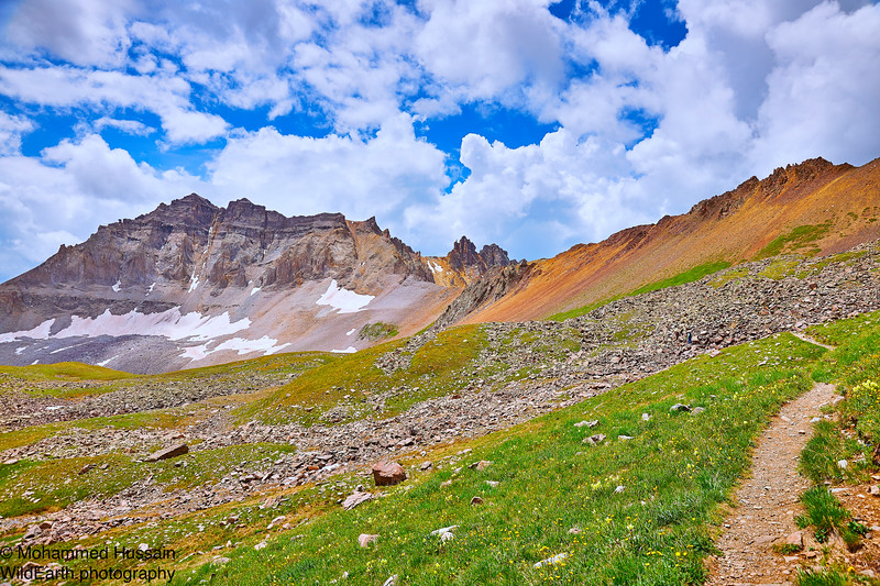 Gilpin Peak- 13,700 ft - Mount Sneffels Wilderness of Uncompahgre Forest, Ouray, CO