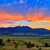 Boulder Flatirons Vista