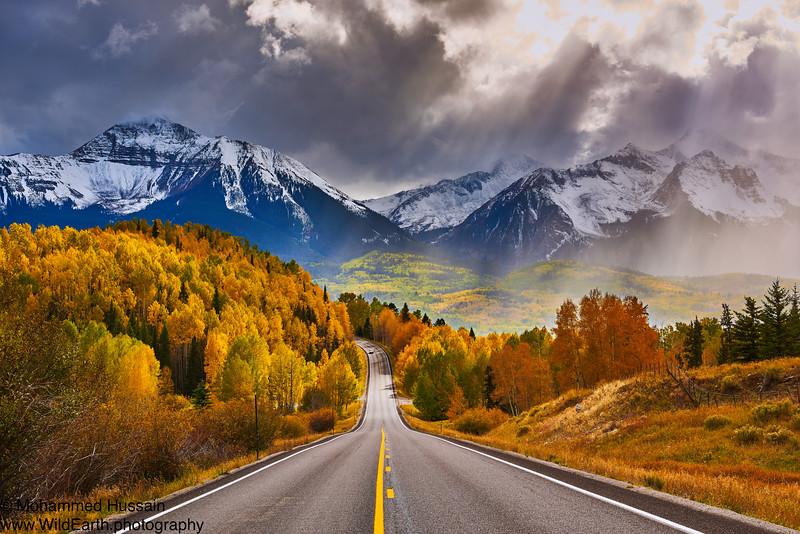 Nature's Drama - Mount Wilson (14,246') and Wilson Peak (14,017'') Telluride, CO