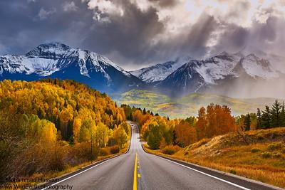 Nature's Drama - Mount Wilson (14,246') and Wilson Peak (14,017'') Ophir, CO