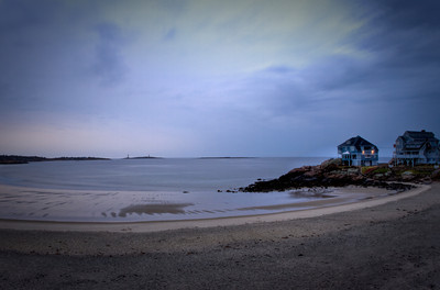 Into the Night at Cape Ann